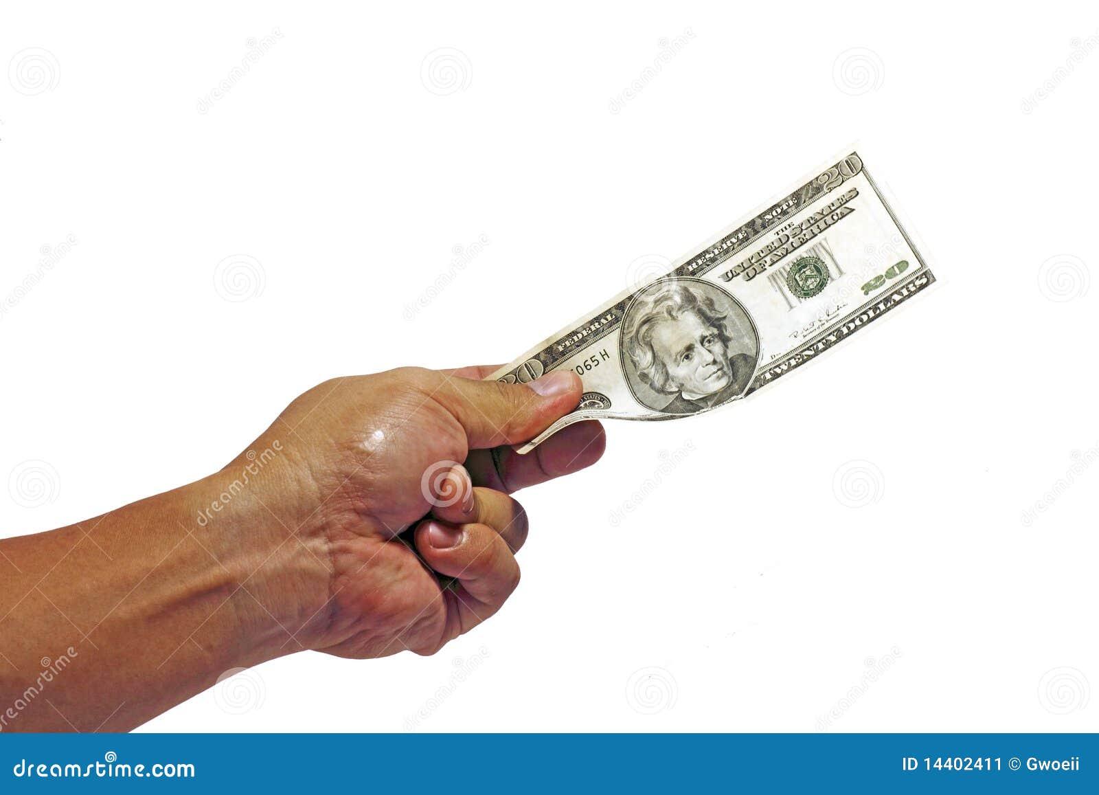 Distribution des dollars.