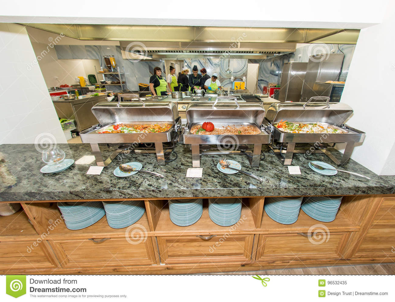 Distribution Of Hot Dishes In The Restaurant Of The Five Star Hotel In Pomorie Bulgaria Editorial Image Image Of Intersection Harbor 96532435