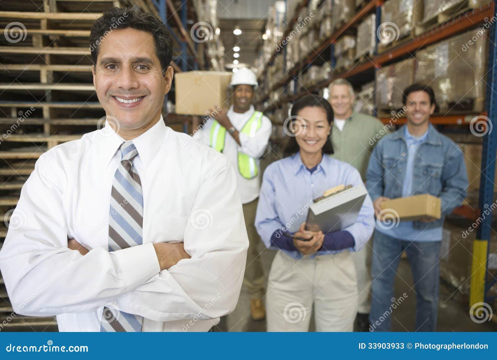 Distribution Warehouse Staff