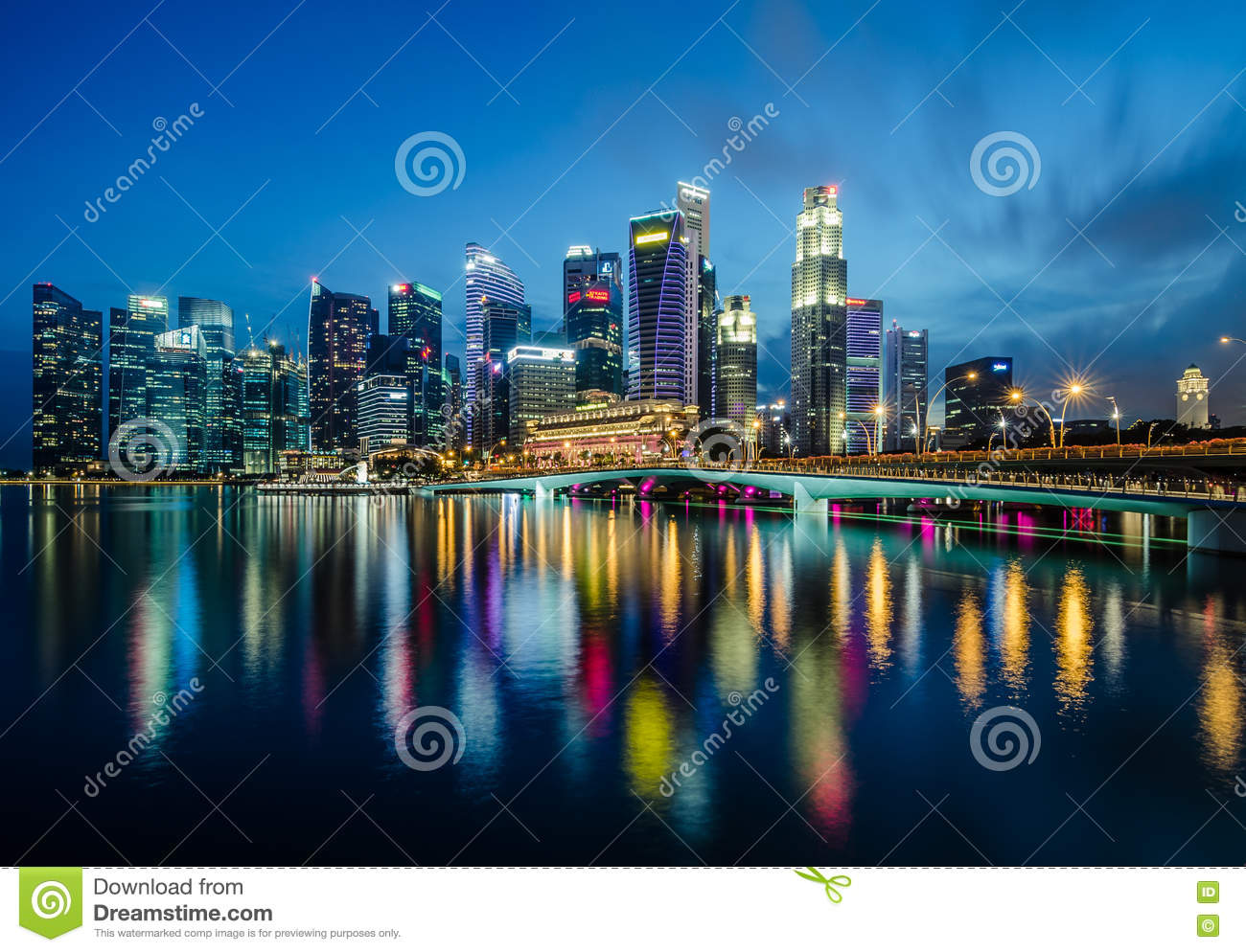 District des affaires de central de Singapour