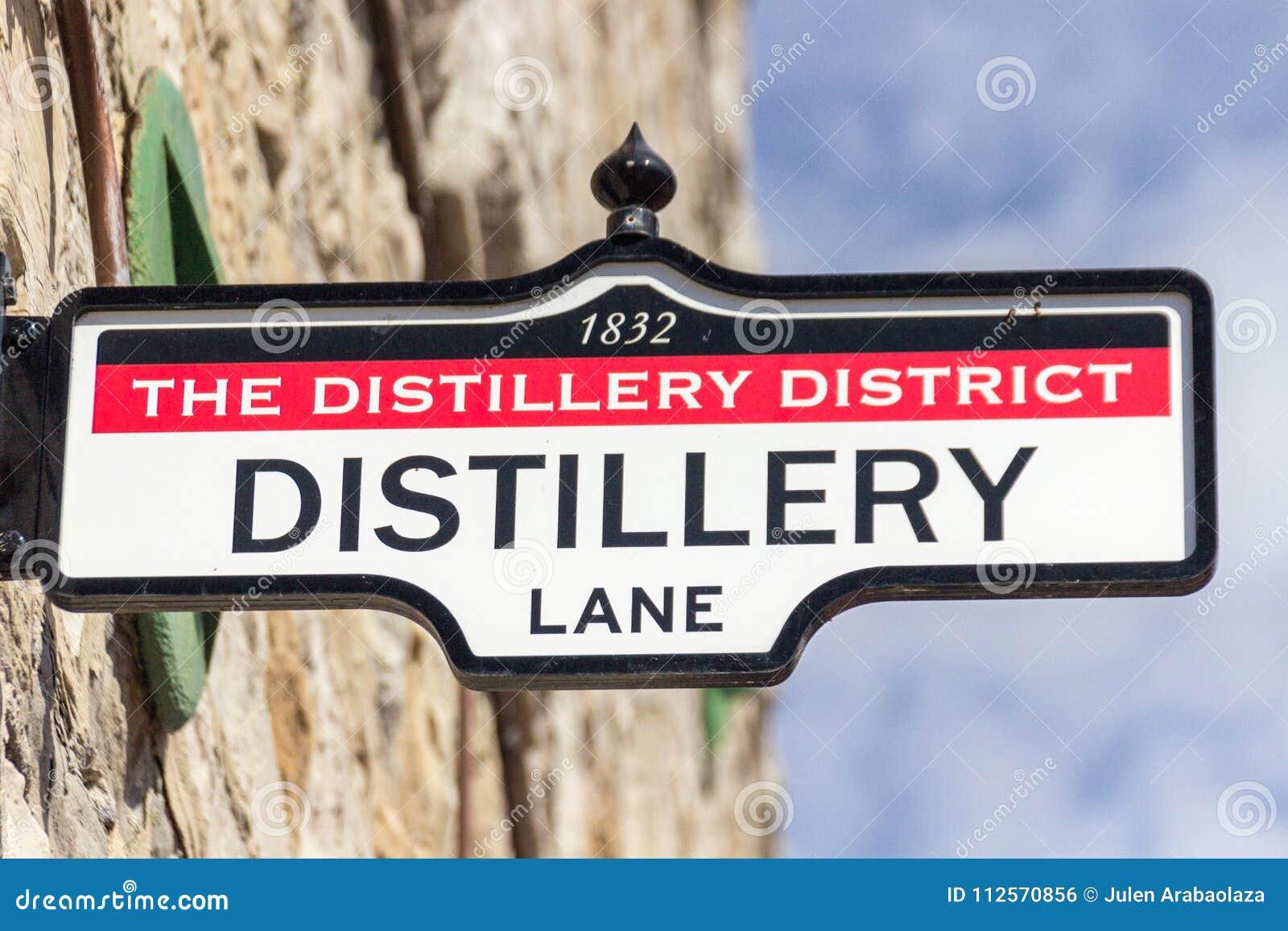 District Distillery in Toronto Canada