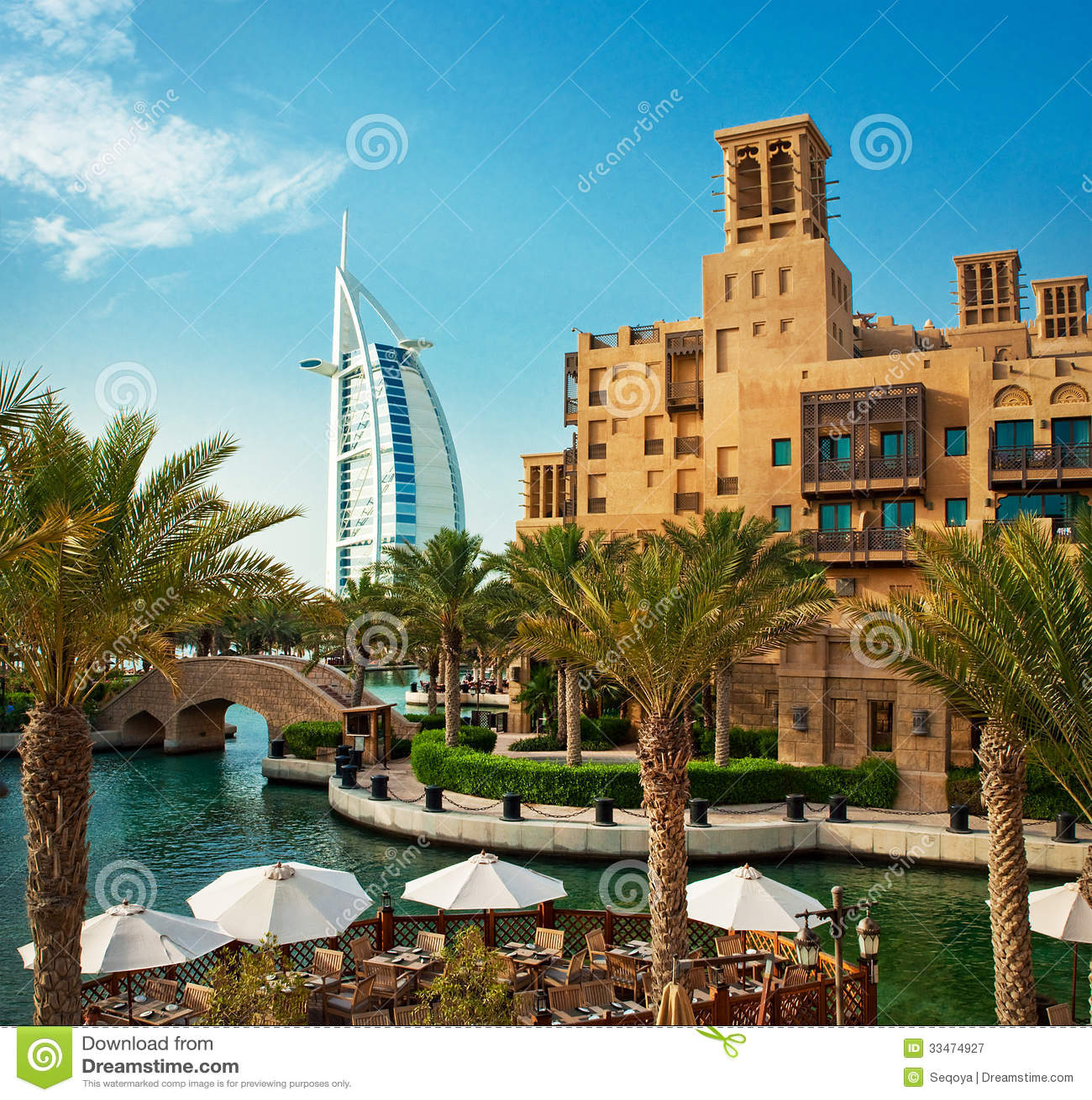 District of madinat jumeirah 3 2013 in dubai editorial for Hotel dubai famous