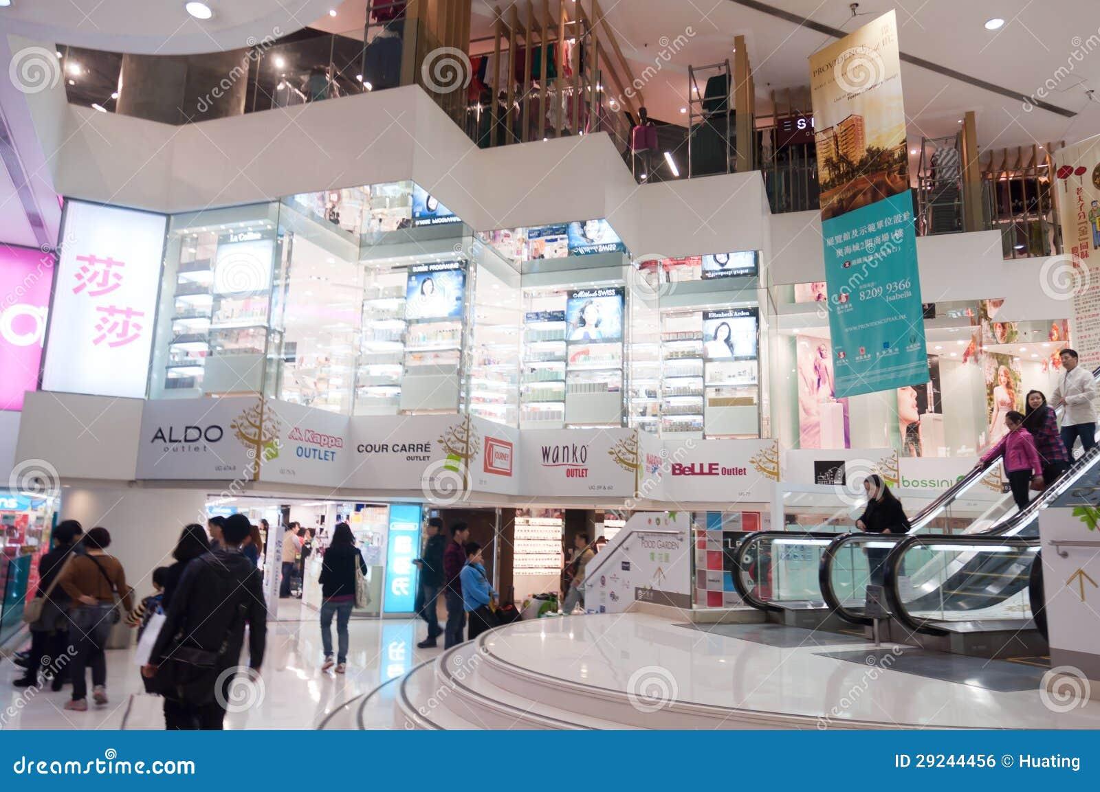 Download Distrito Da Compra Em Hong Kong Foto Editorial - Imagem de ásia, luzes: 29244456
