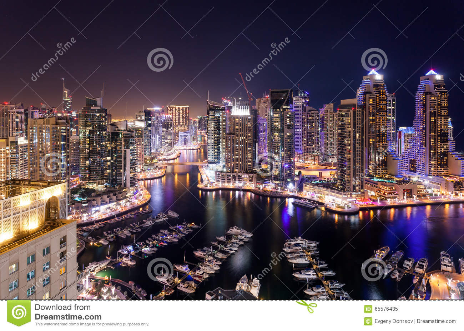 Distrito do porto de Dubai