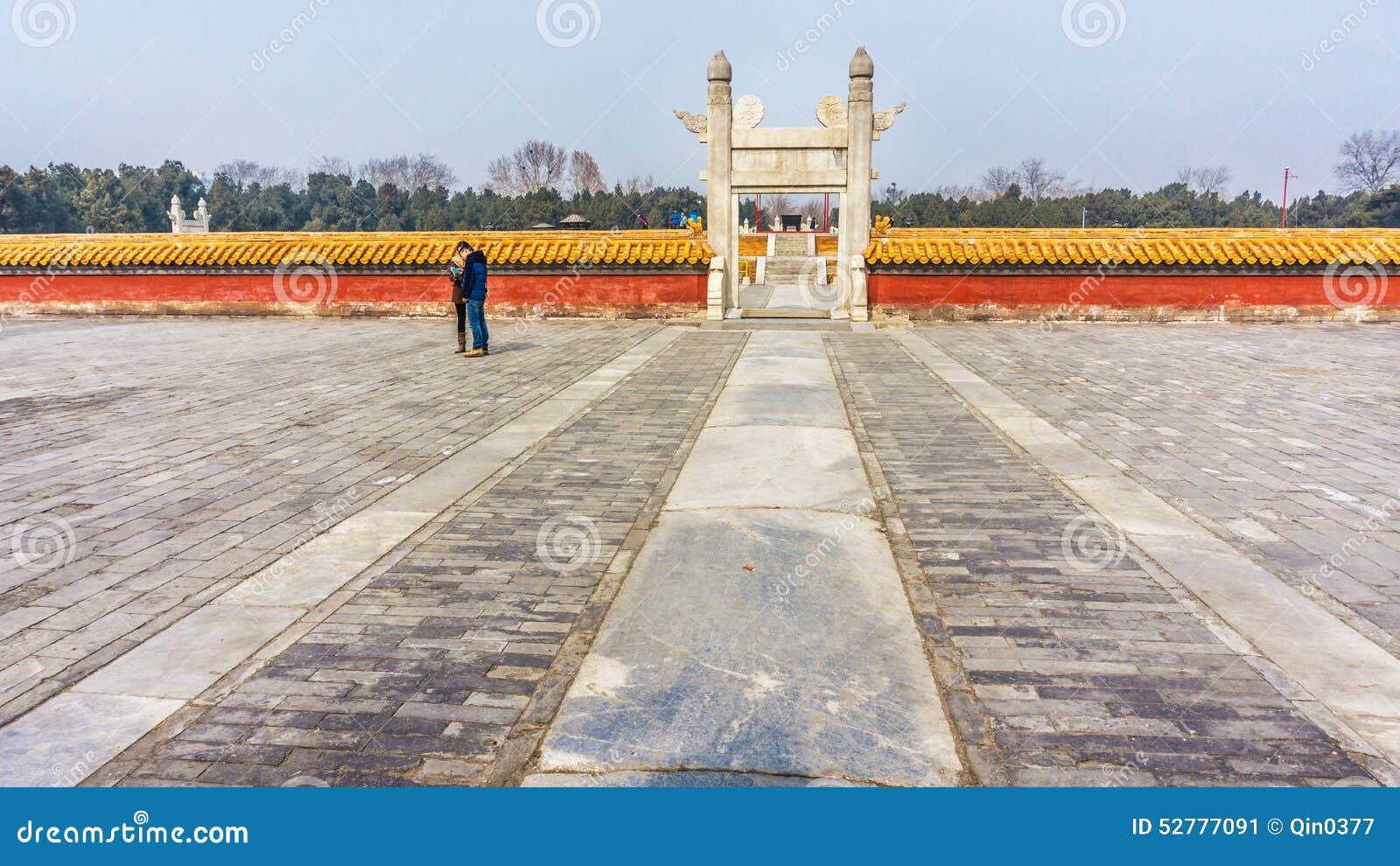 Ditan park in Beijing ... Ditan