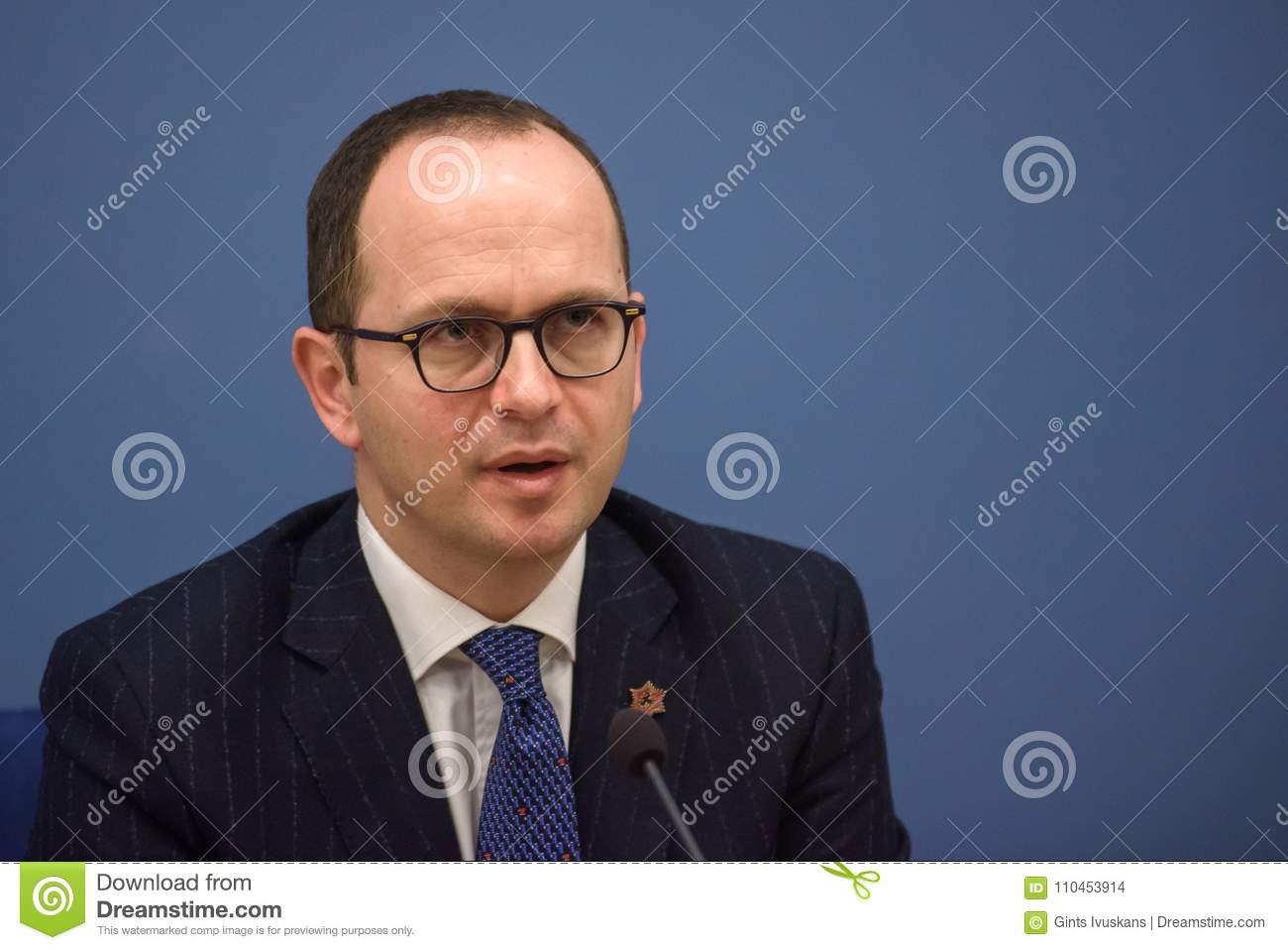 Ditmir Bushati, Albanian Minister of Foreign Affairs