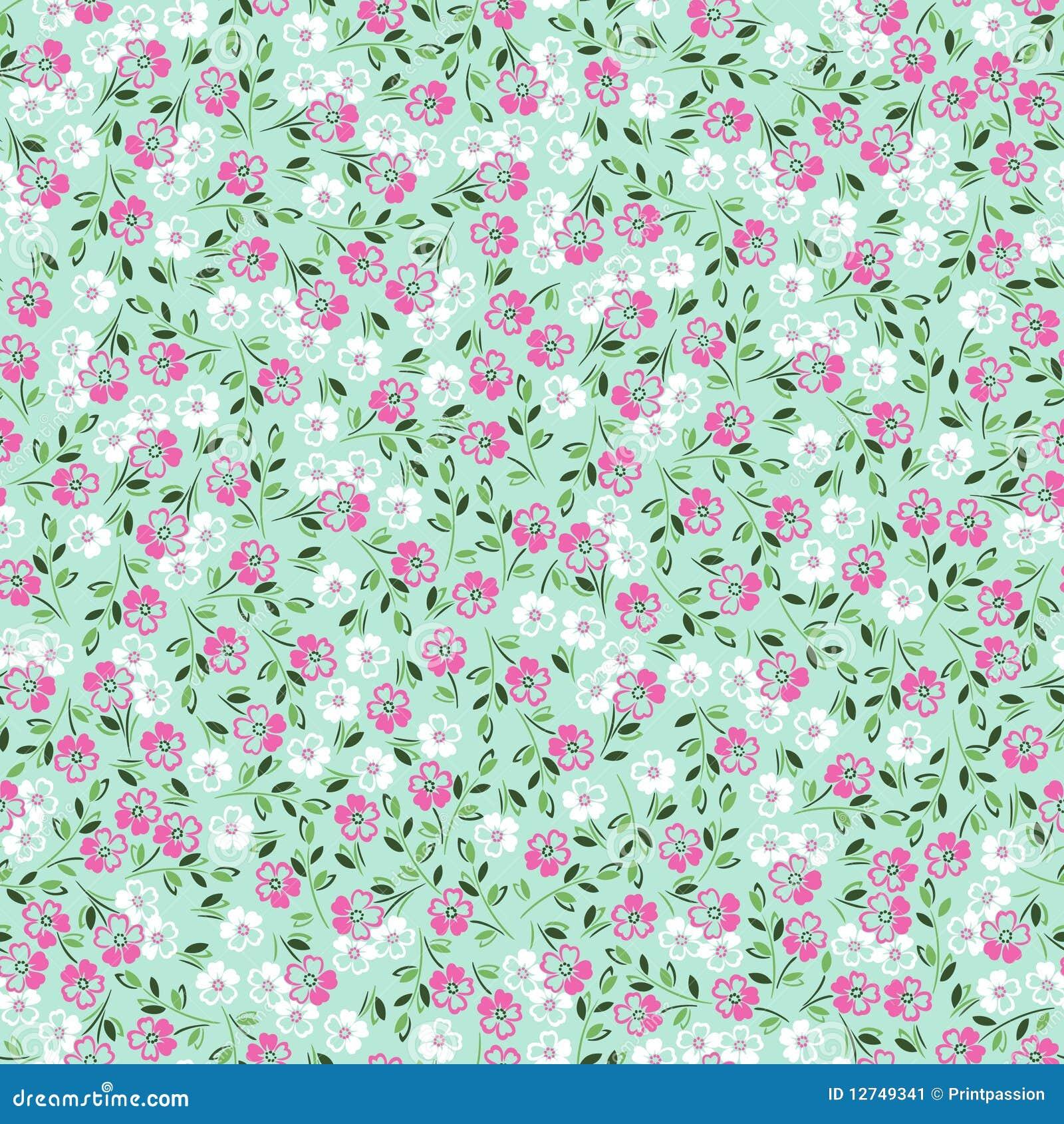 2015 Ditsy Floral Design: Ditsy Floral Stock Vector. Image Of Wallpaper, Design