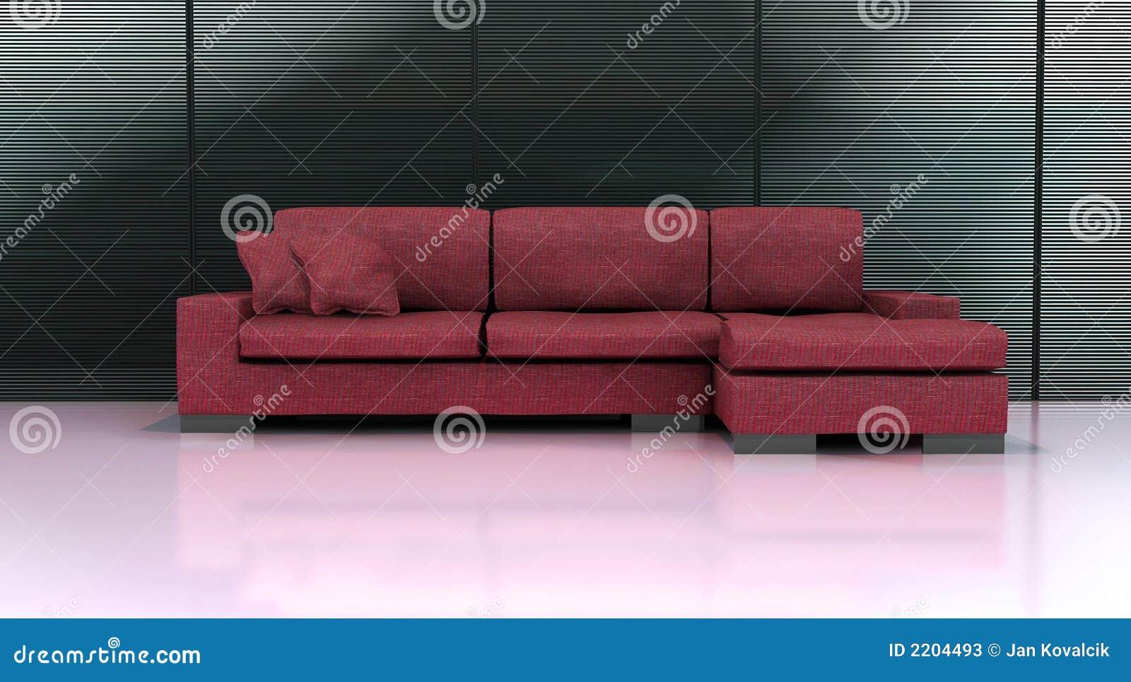 divan moderne photos stock image 2204493. Black Bedroom Furniture Sets. Home Design Ideas