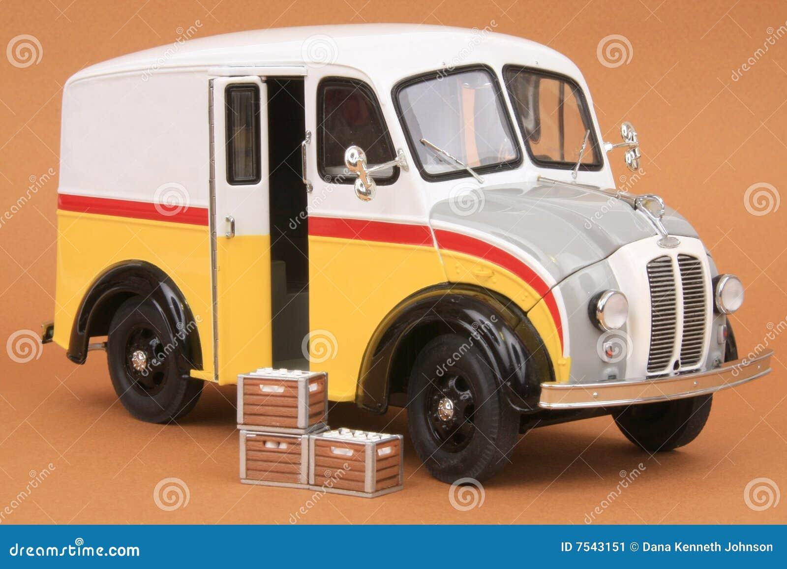 Divco Milk Delivery Van 1950 Stock Image - Image of diecast