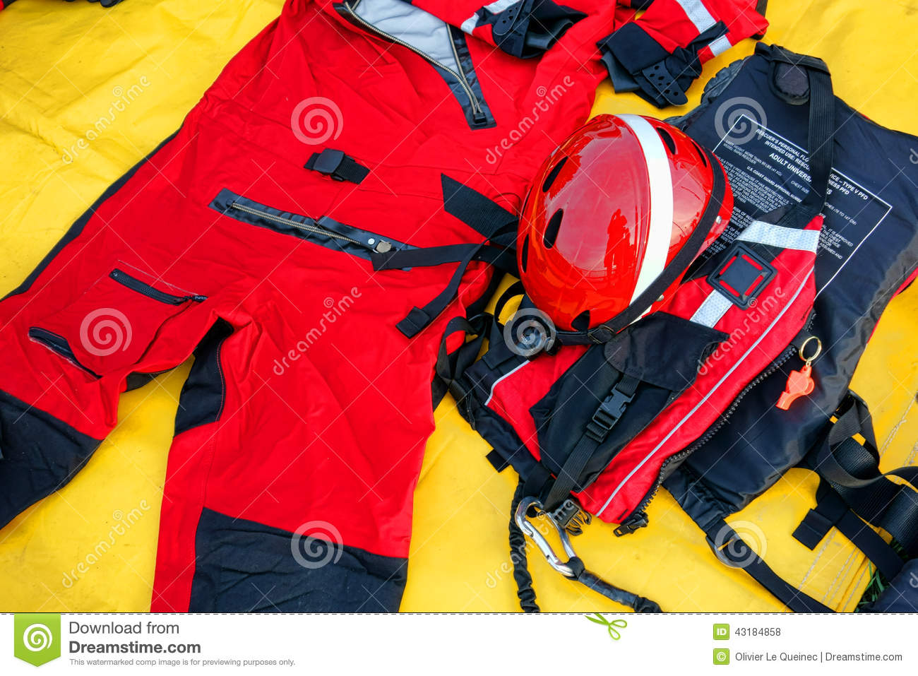 Diver Firefighter Wetsuit Emergency Rescue Kit