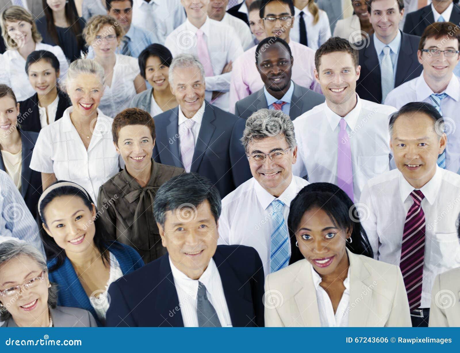 Divers Bedrijfsmensen Succesvol Collectief Concept