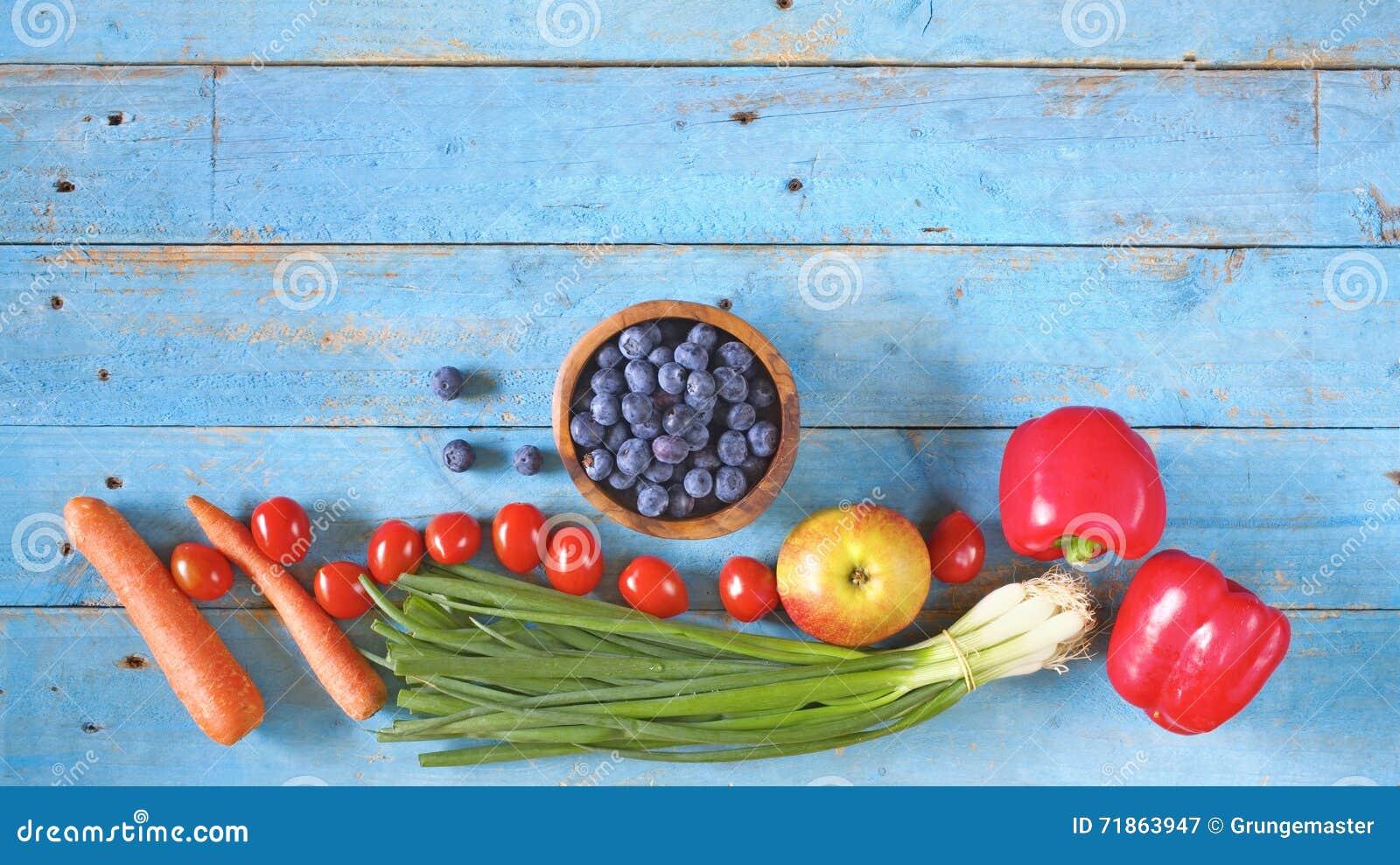 Divers gezond voedsel