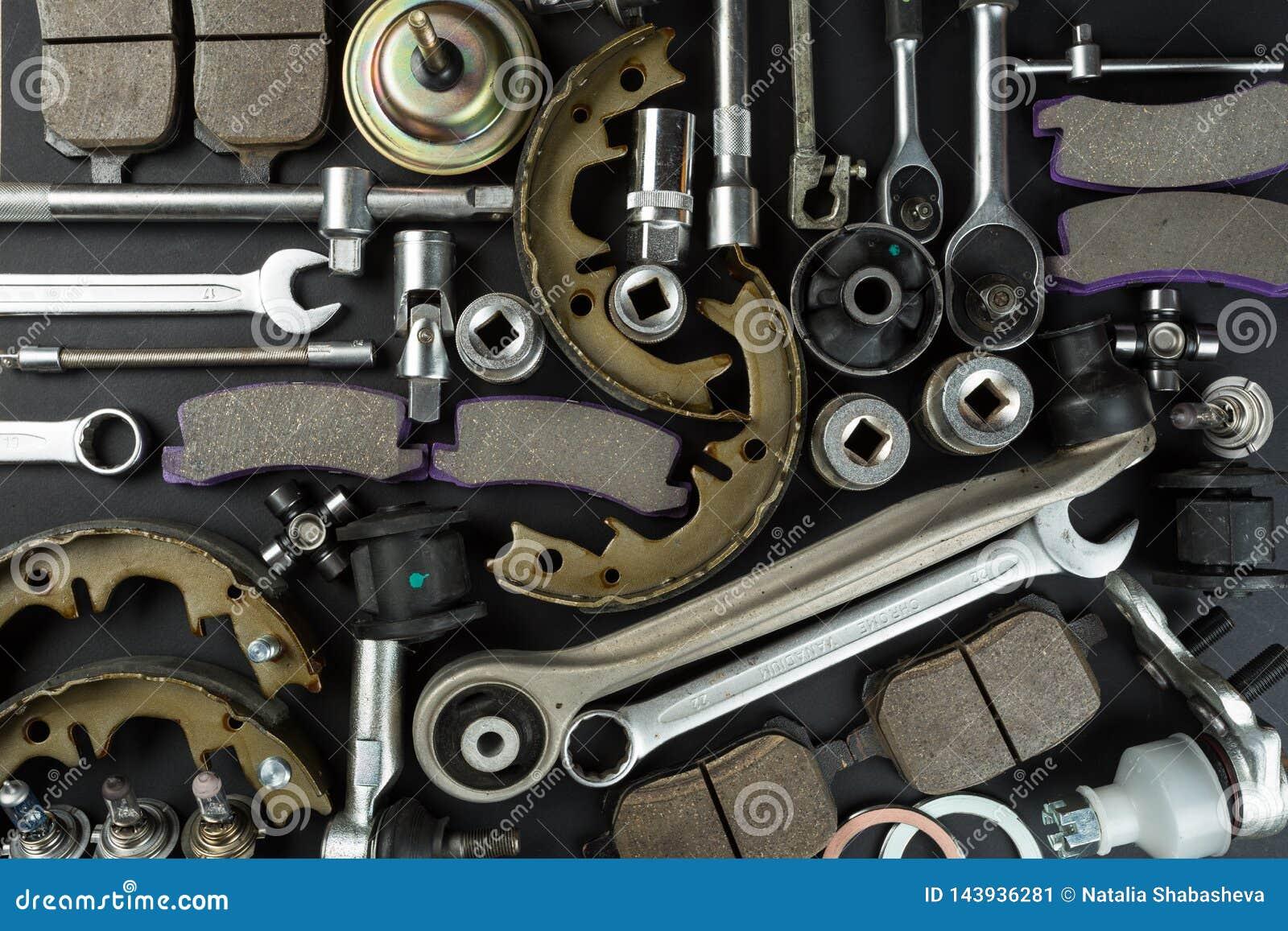 Divers pièces et outils de voiture