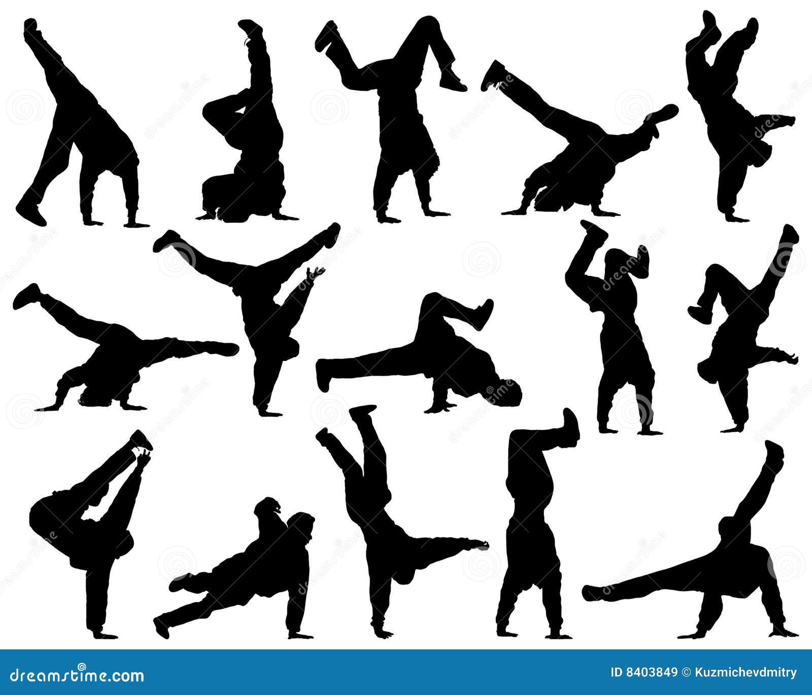 Diversa danza de la silueta