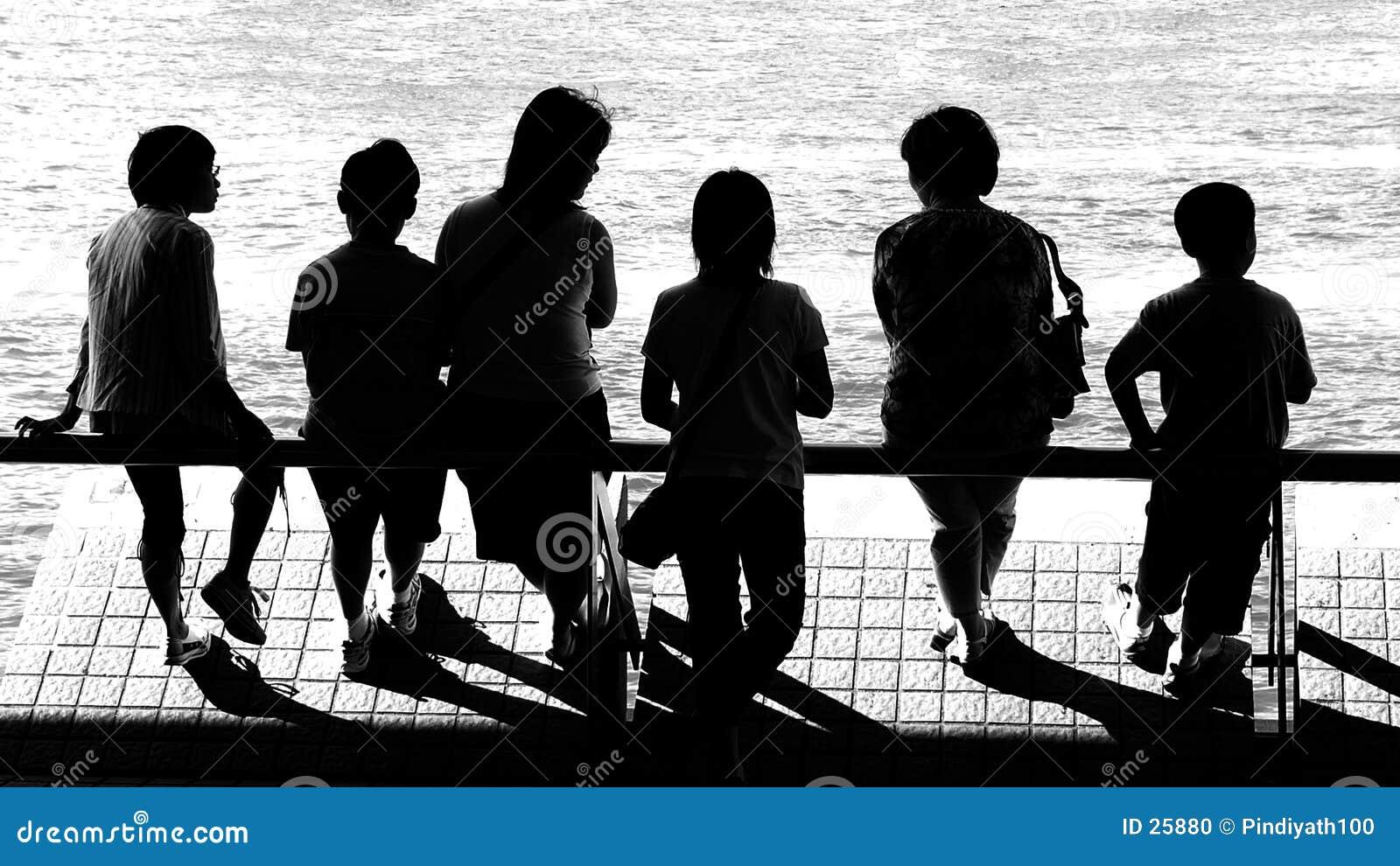 Download Diversa Generación En Vaccation Foto de archivo - Imagen de adultos, gente: 25880