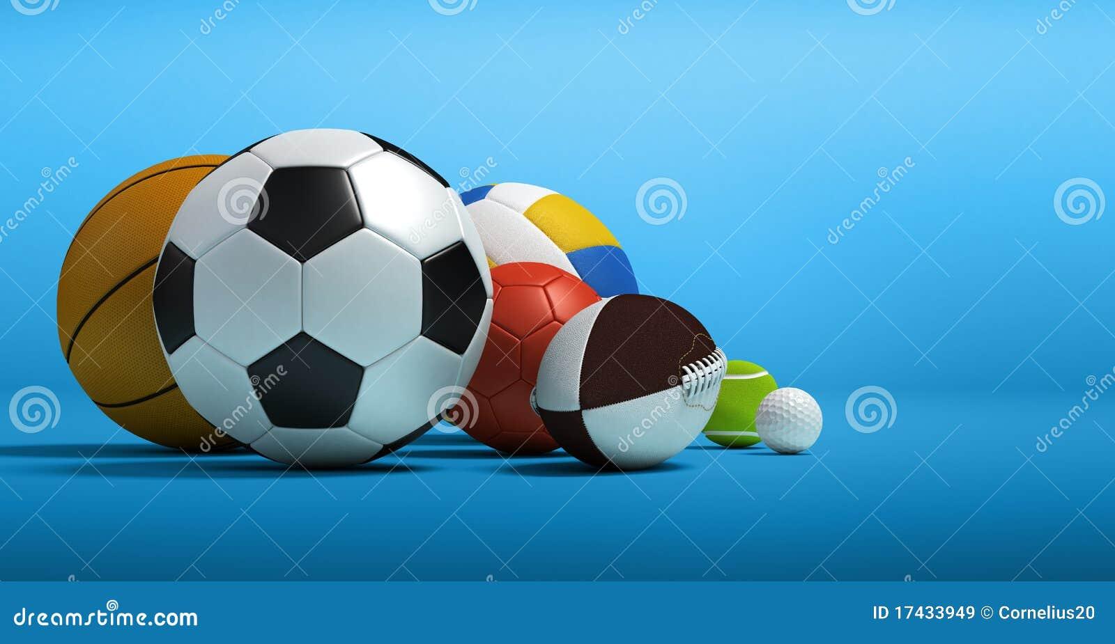 Diversas bolas del deporte