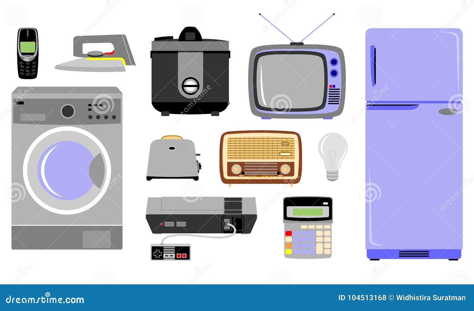 Diversas clases de mercancías electrónicas