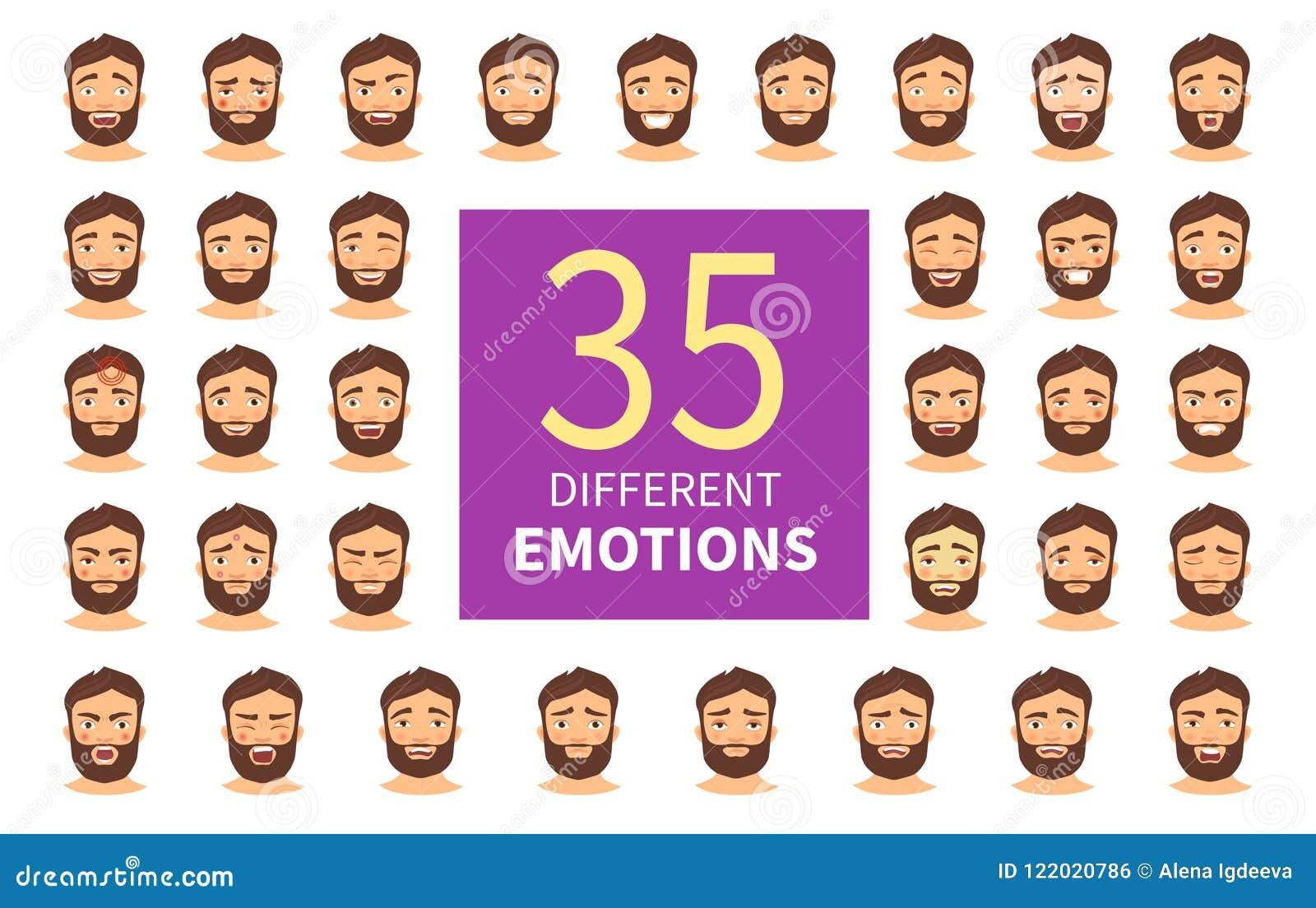 Diversas emociones