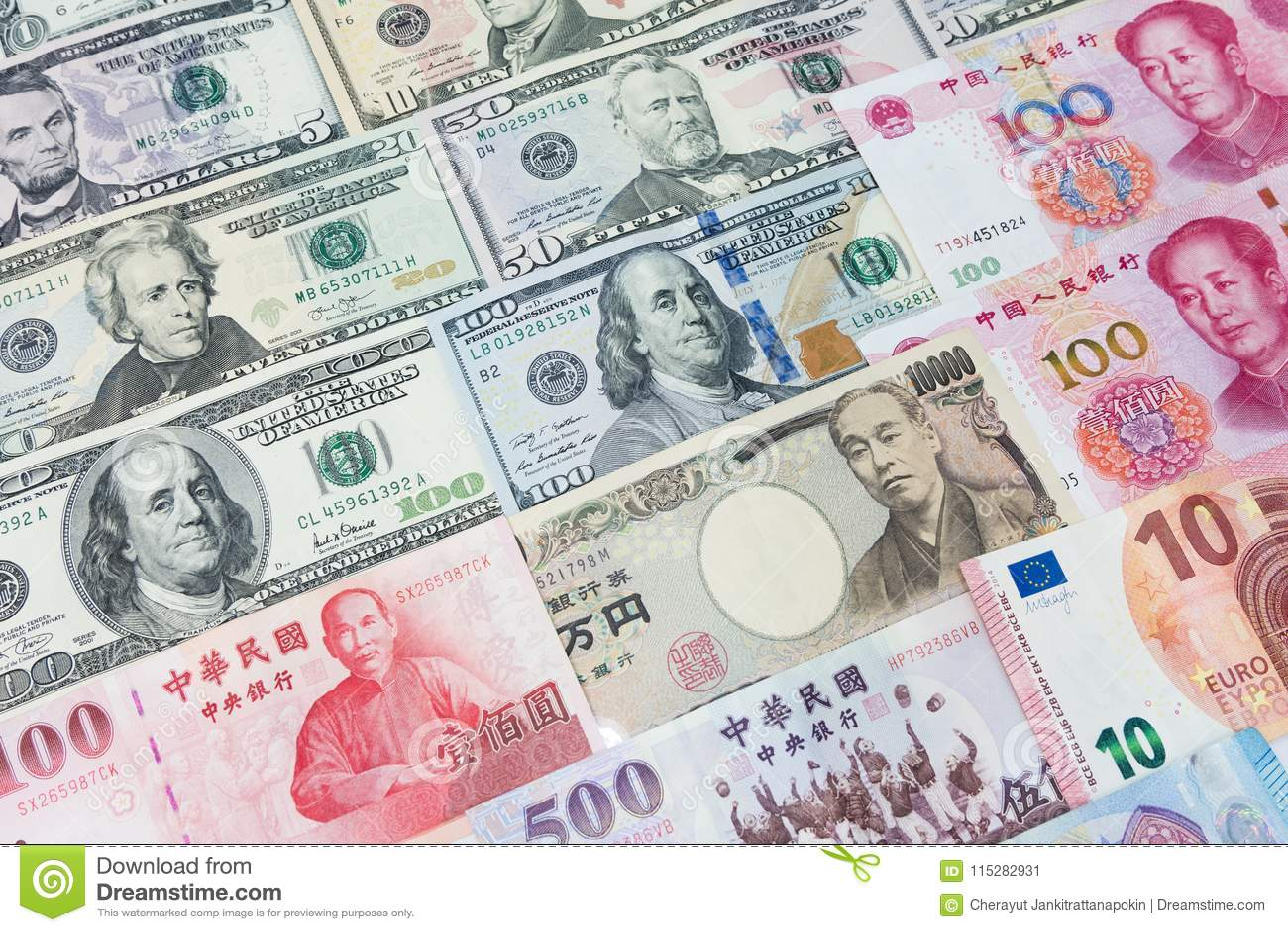 Diversas monedas de World's de varios países diferentes C