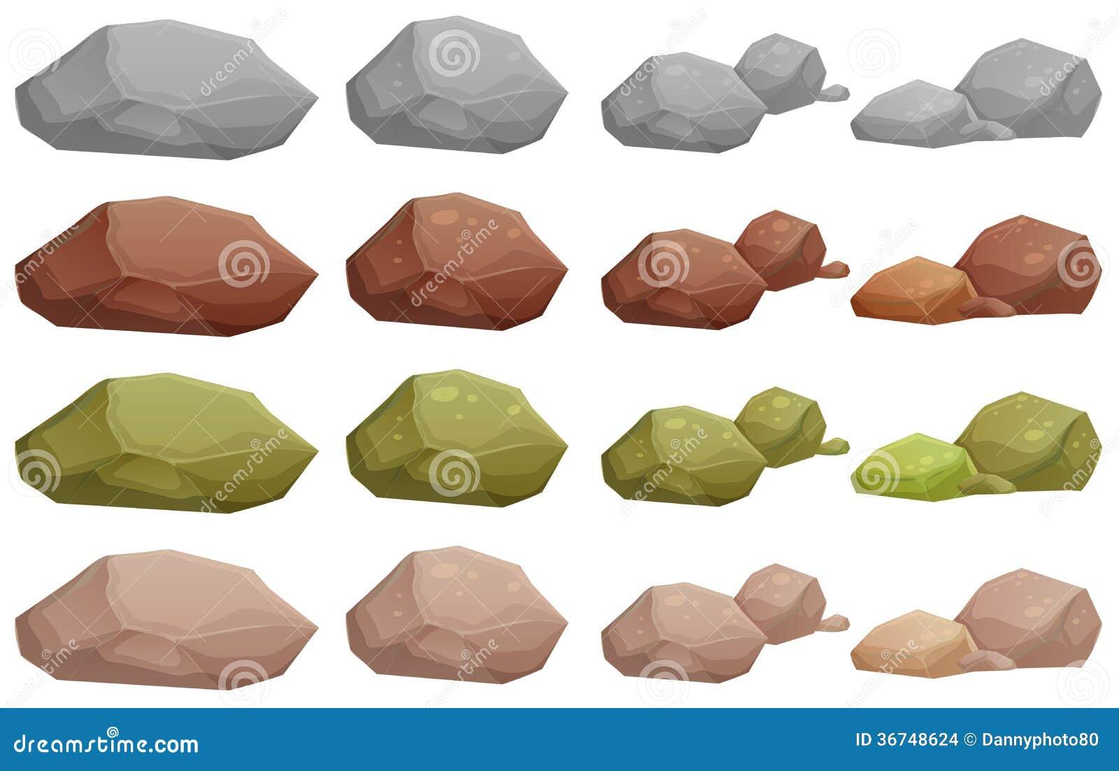 Diversas rocas