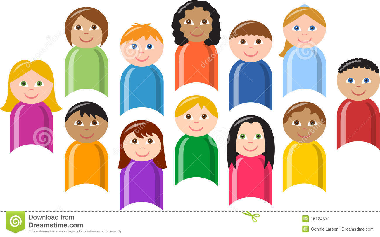 Diverse Group of Children/eps