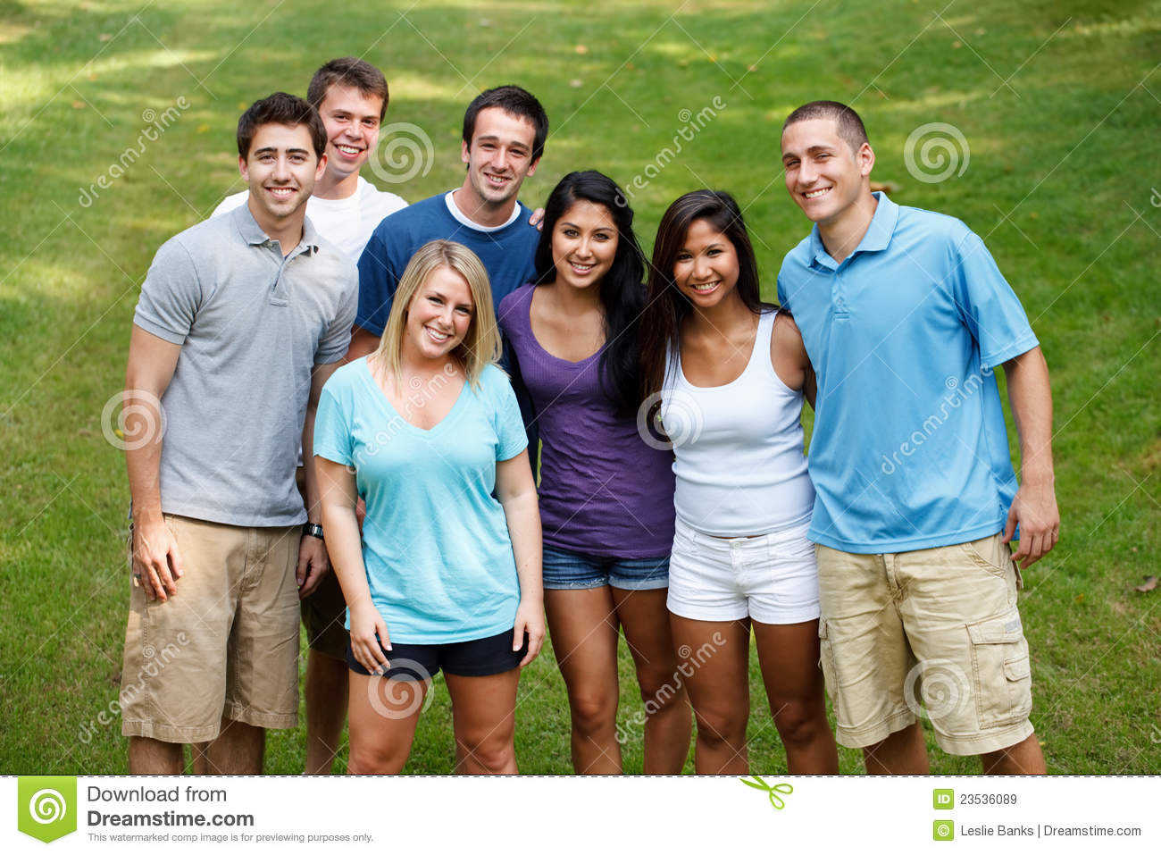 Diverse Group Of Friends Royalty Free Stock Images - Image ...