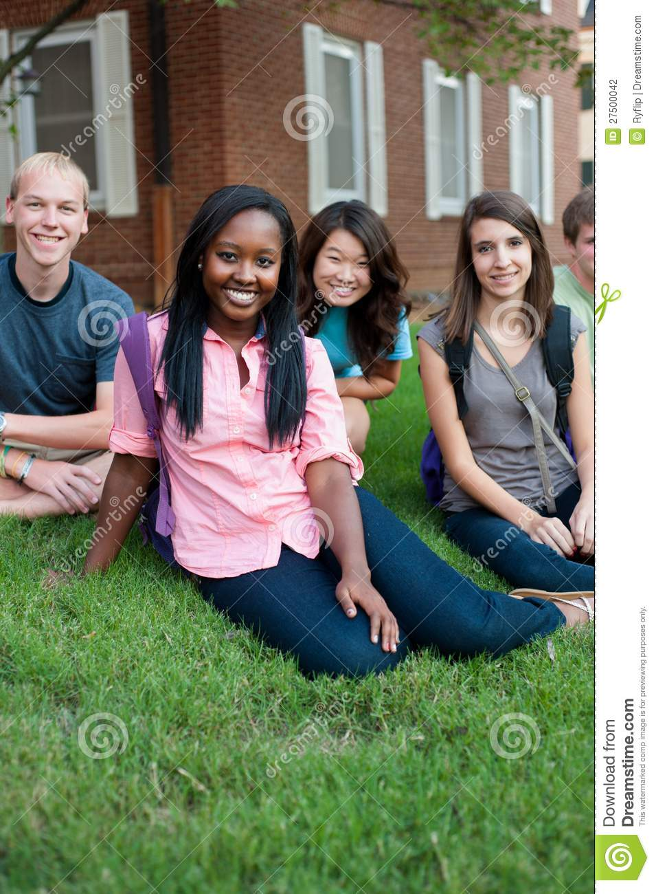 Diverse Group Of Friends Stock Photography - Image: 27500042