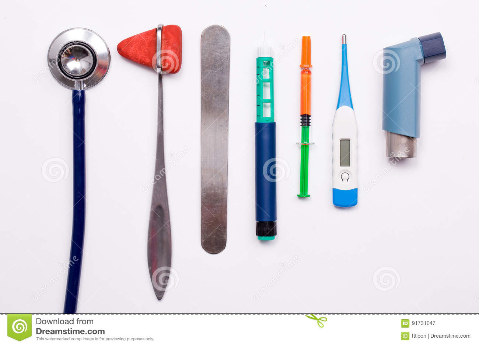 Diverse medische apparatuur