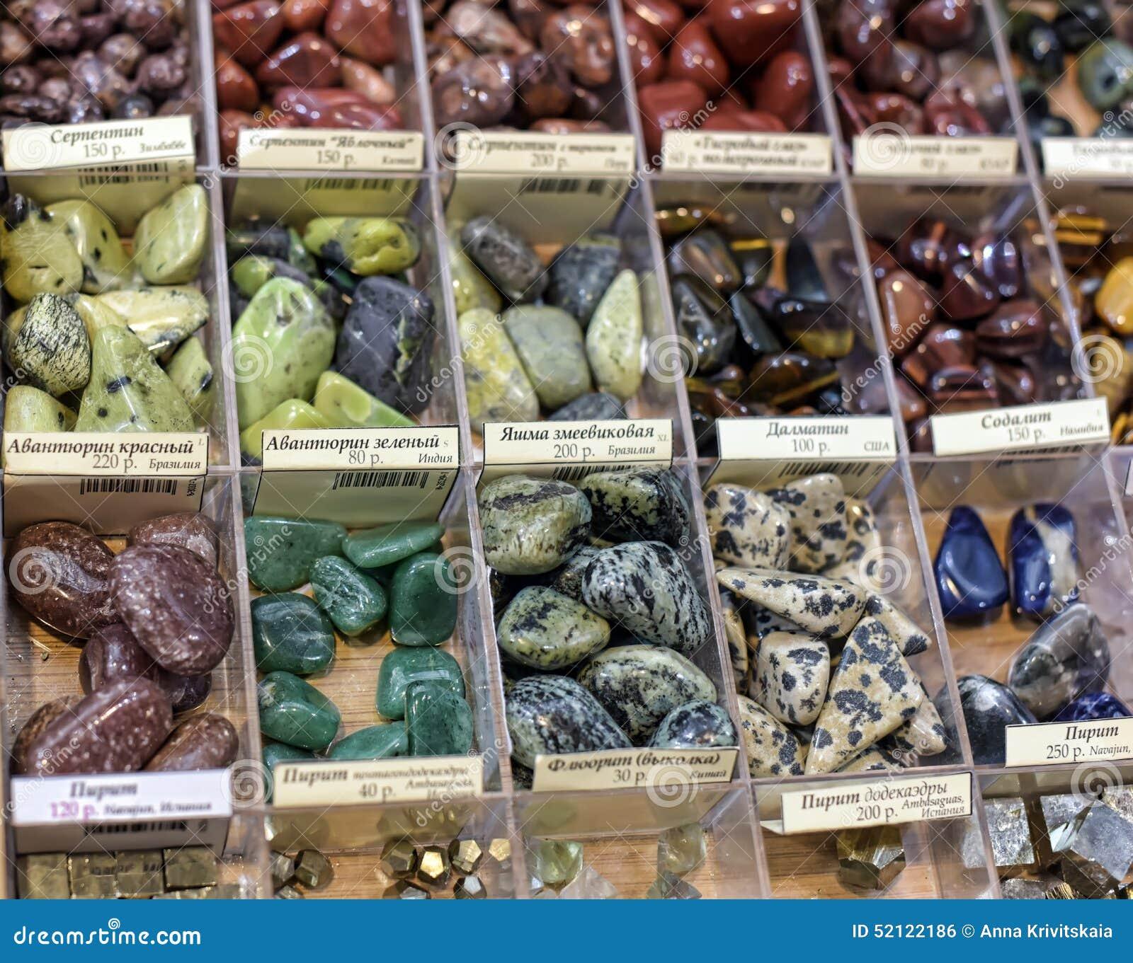 verkoop mineralen