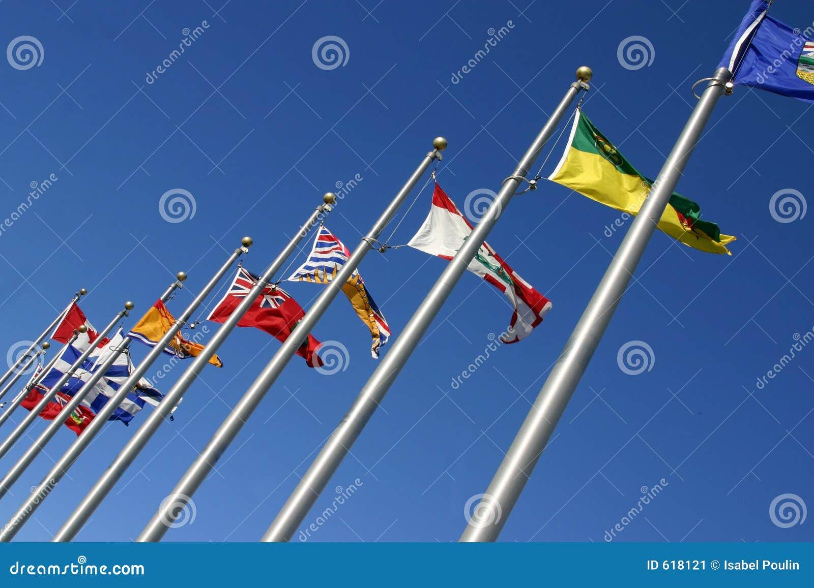 Diverse vlaggen
