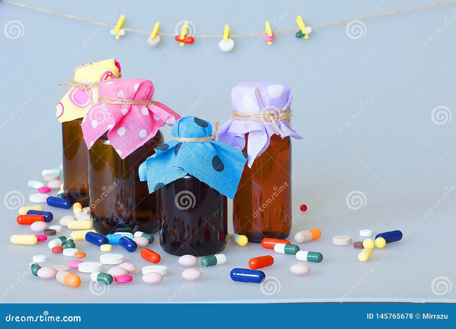 Diverses formes gal?niques des capsules, comprim?s, drag?es pour le traitement des maladies humaines