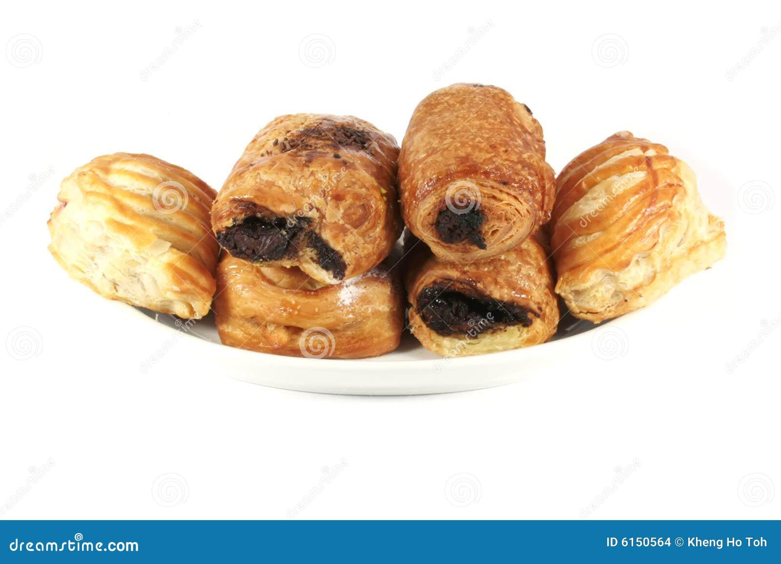 Diverses pâtisseries danoises