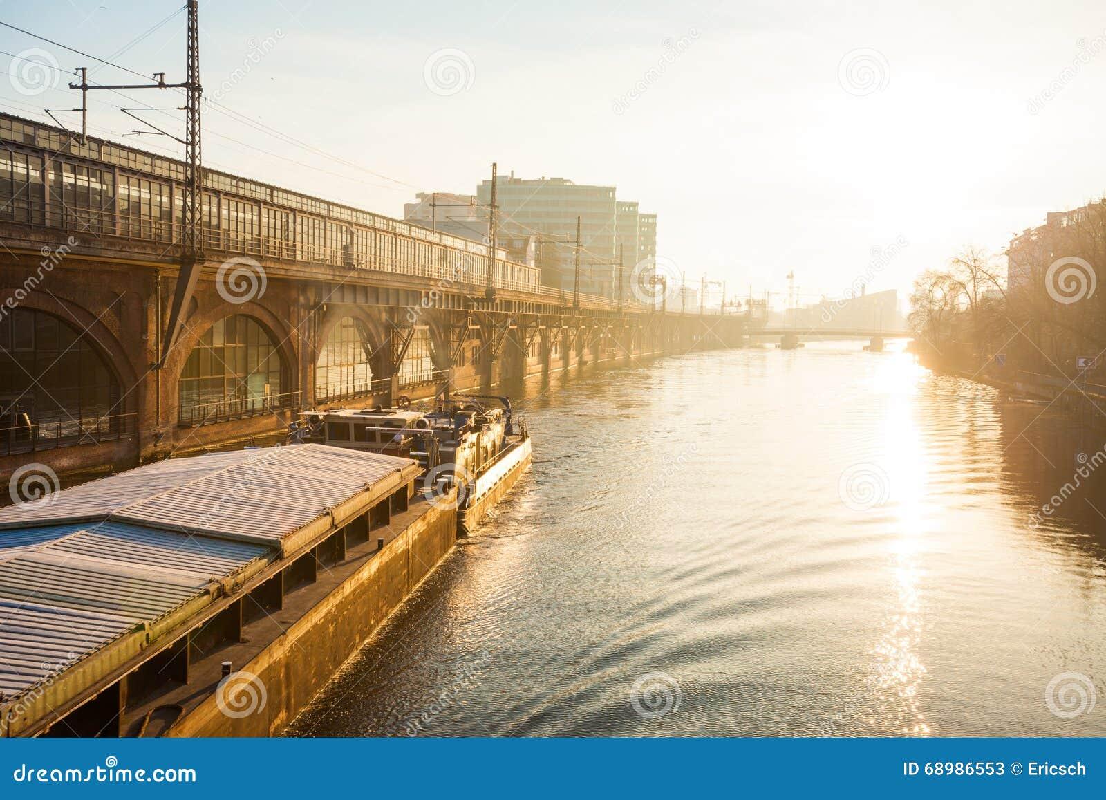 Diversión del río, Berlín