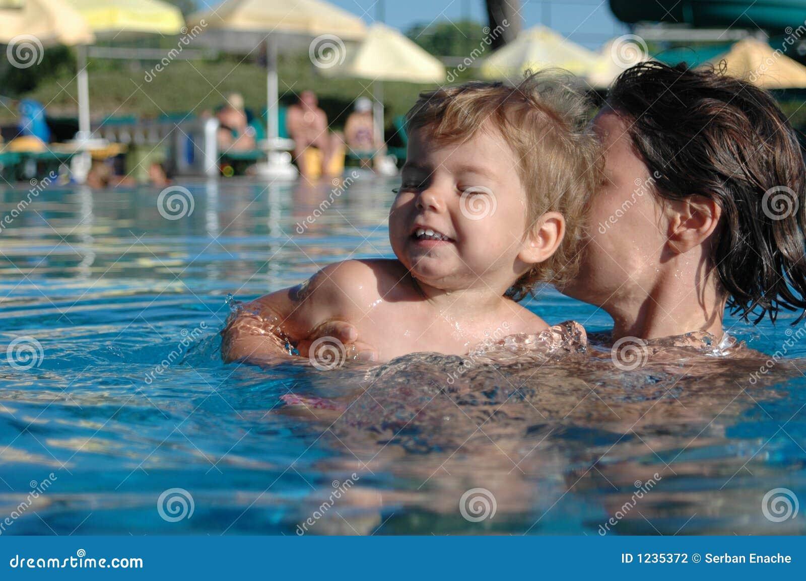 Diversión en la piscina