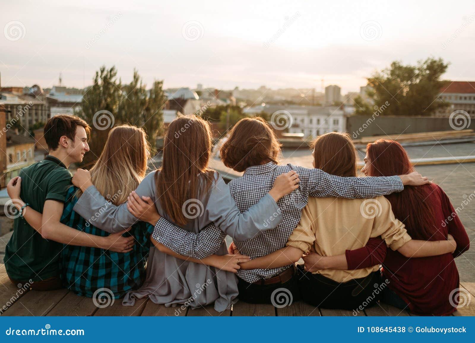 Diversidade do apoio do lazer da unidade da juventude dos amigos