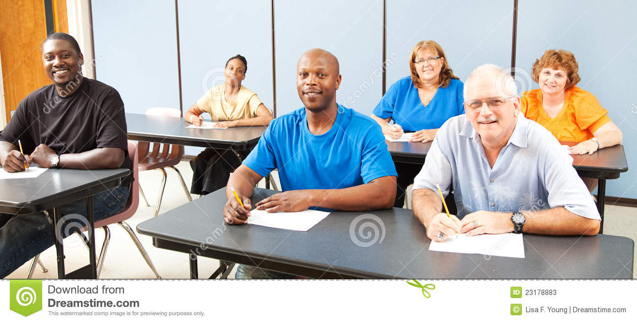 Adult education classroom management