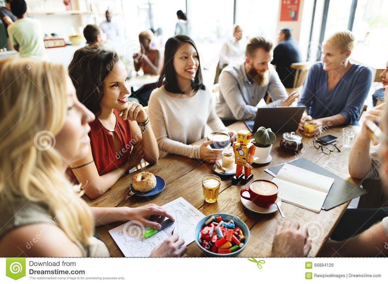 diversity friends meeting coffee shop brainstorming no talking in class clipart no talking back clipart