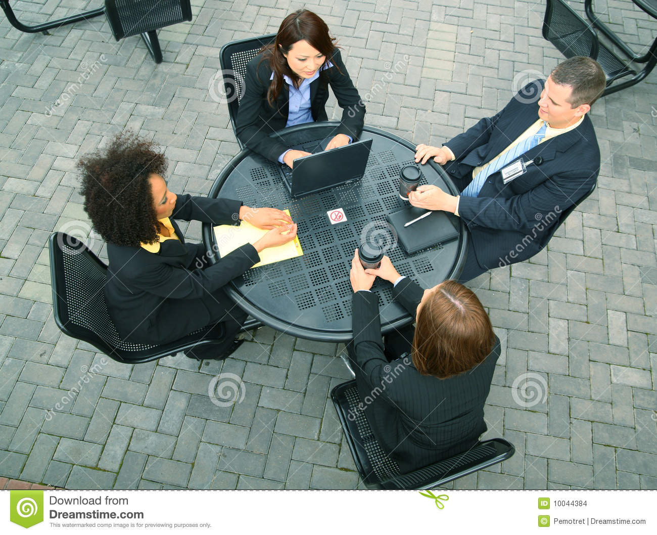 Diversity Group Of Business People