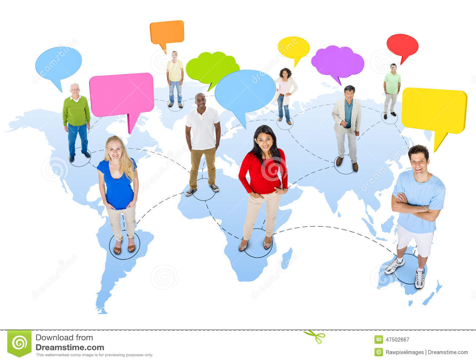 Multicultural speech