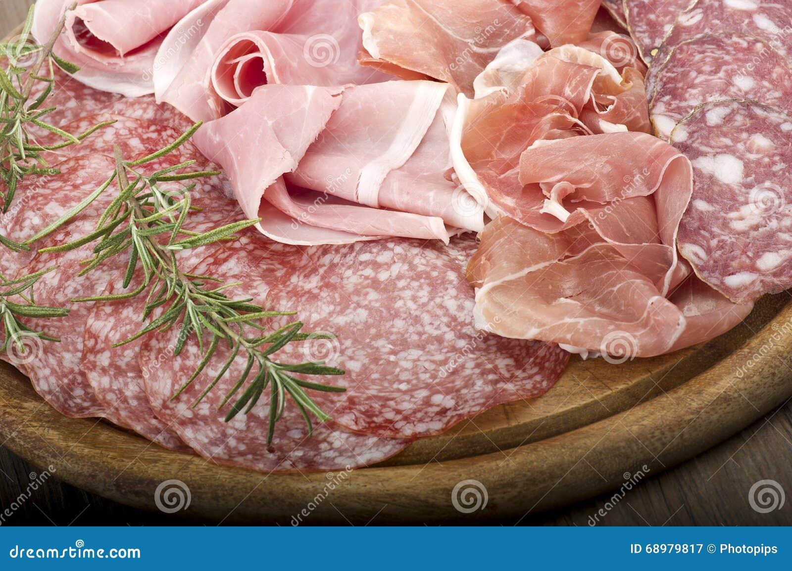 Diverso salami italiano
