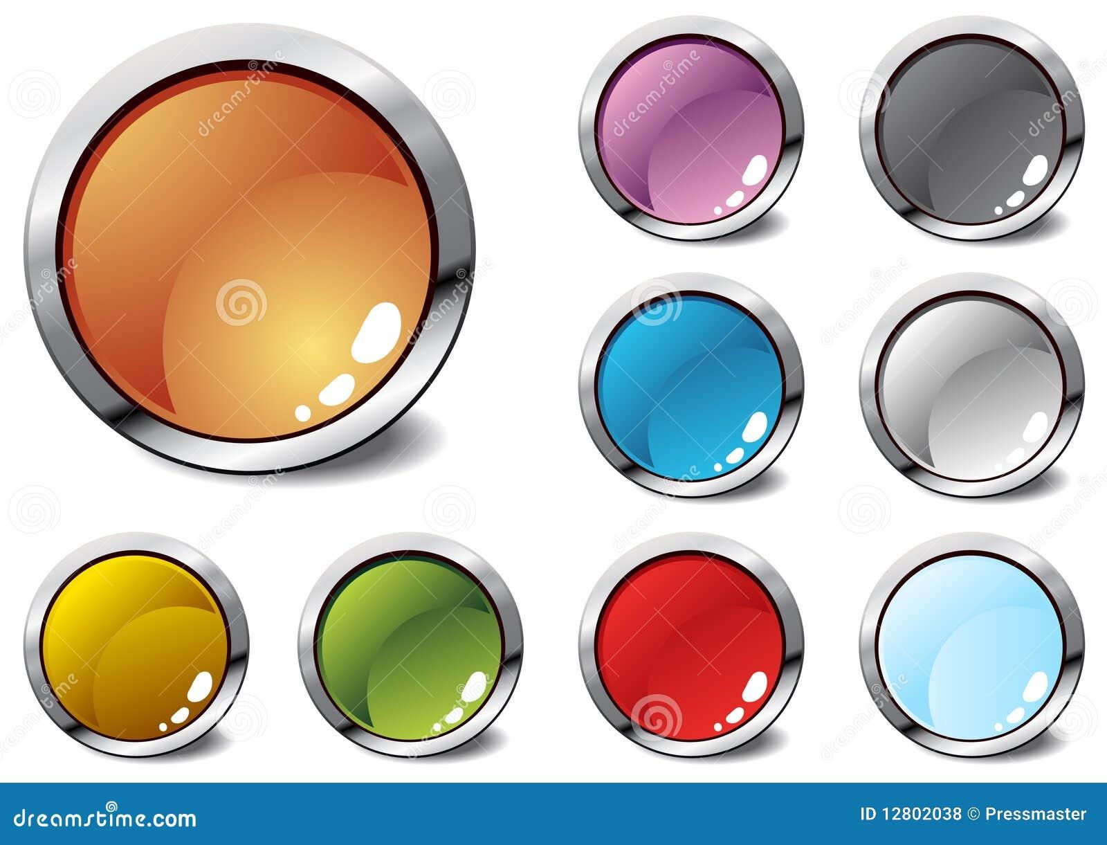 Diversos ícones coloridos