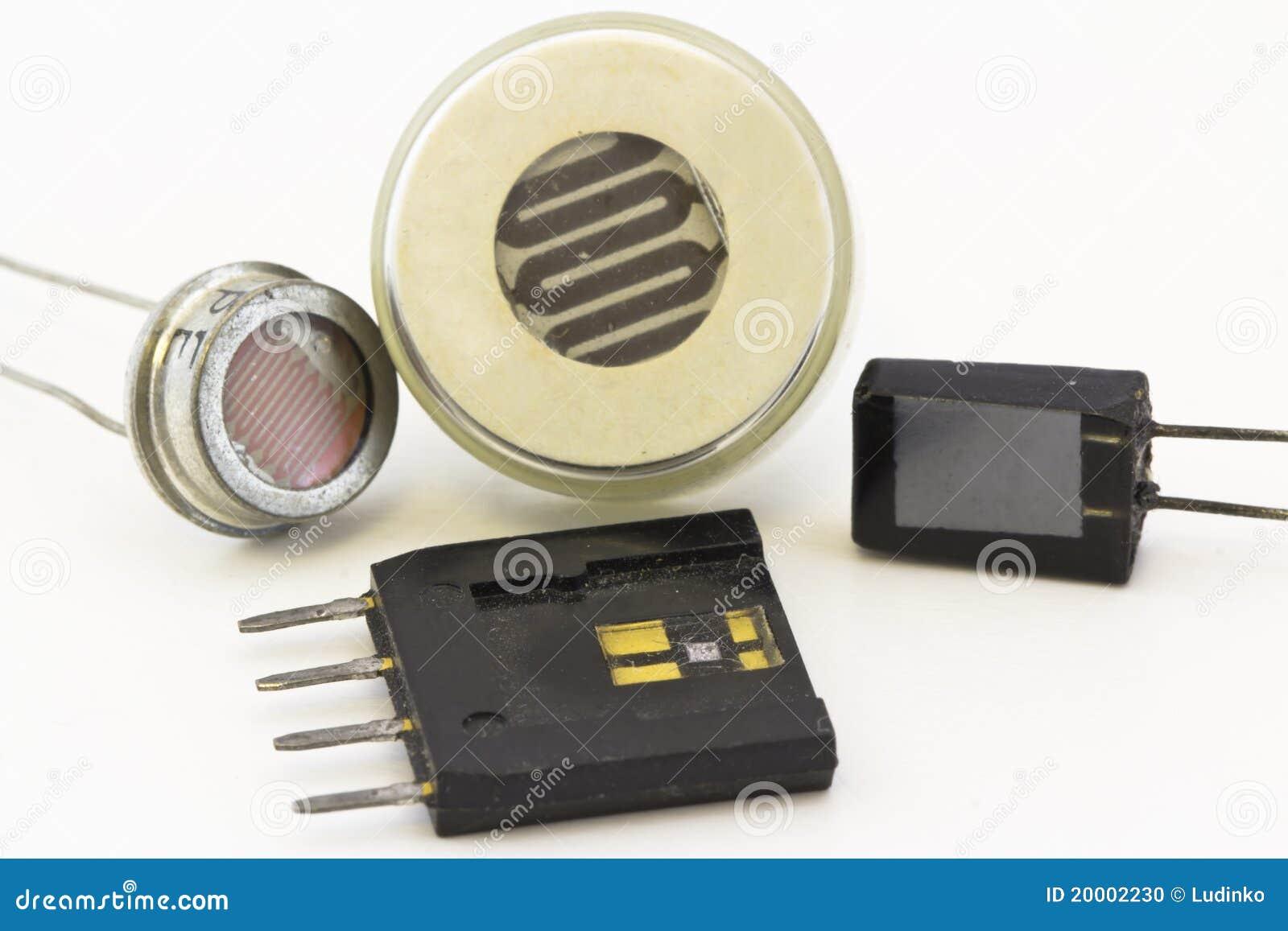 diversos tipos de sensores foto de archivo imagen 20002230. Black Bedroom Furniture Sets. Home Design Ideas