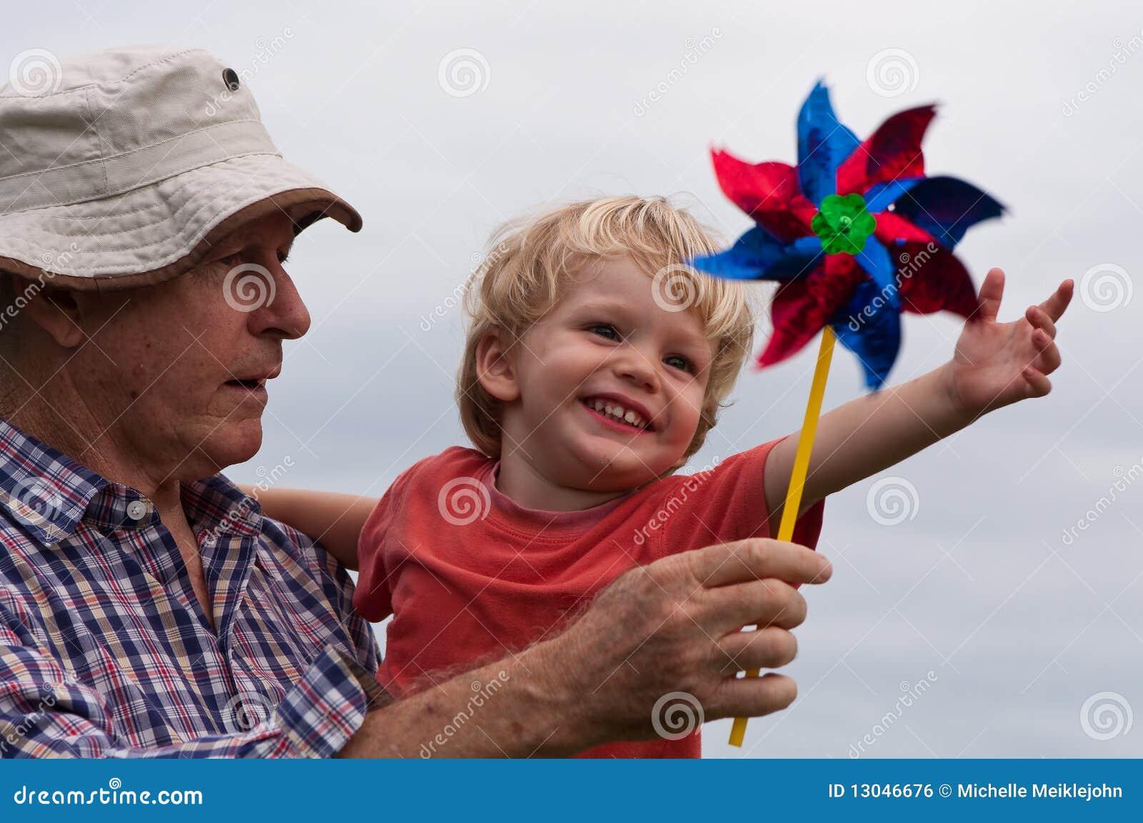 Divertimento com grandpa