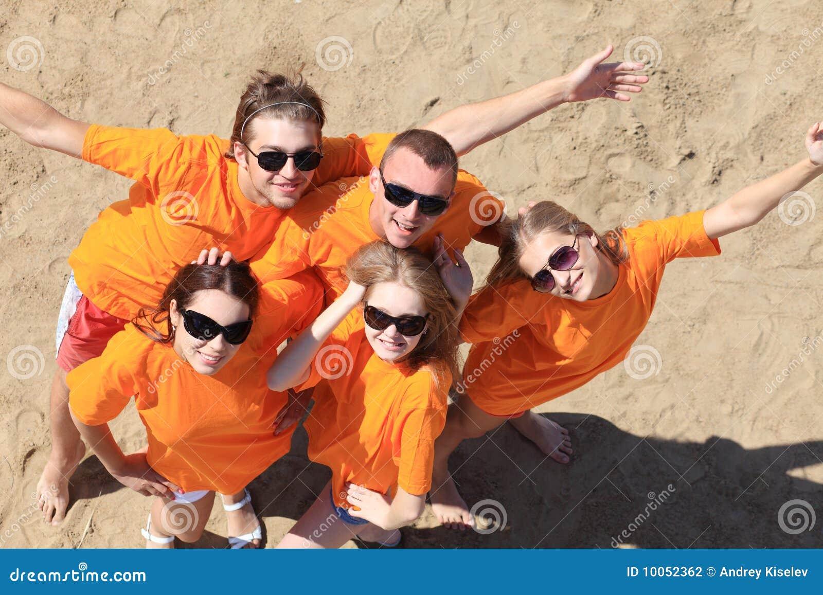 Divertimento em uma praia