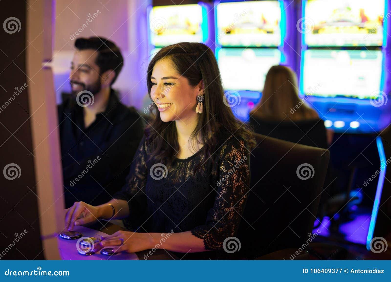 Divertirse cierto en un casino