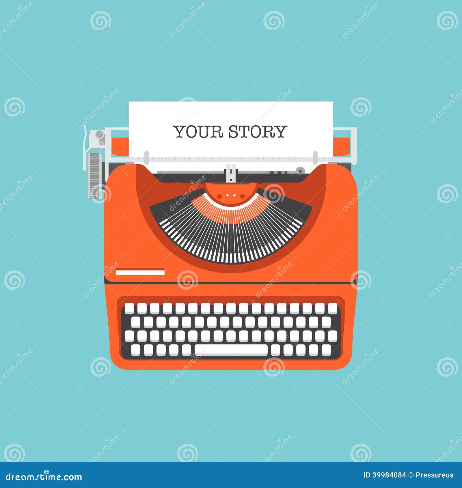 Divida la vostra illustrazione piana di storia