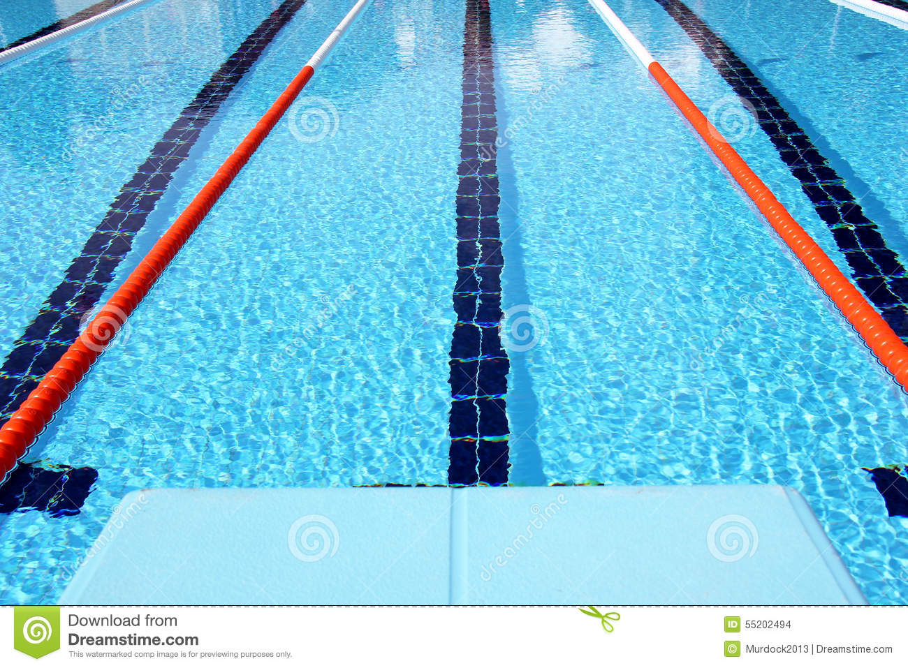 Diving Boards Stock Photo Image 55202494