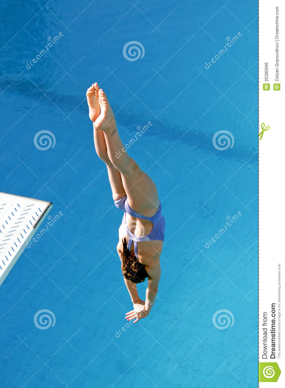 Diving Competition Editorial Photo Image Of Women