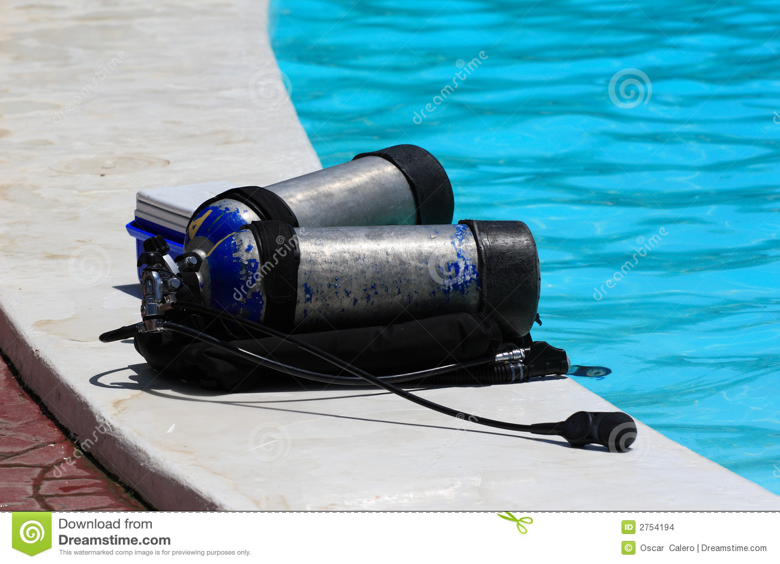 A description of the dangers and rewards of scuba diving