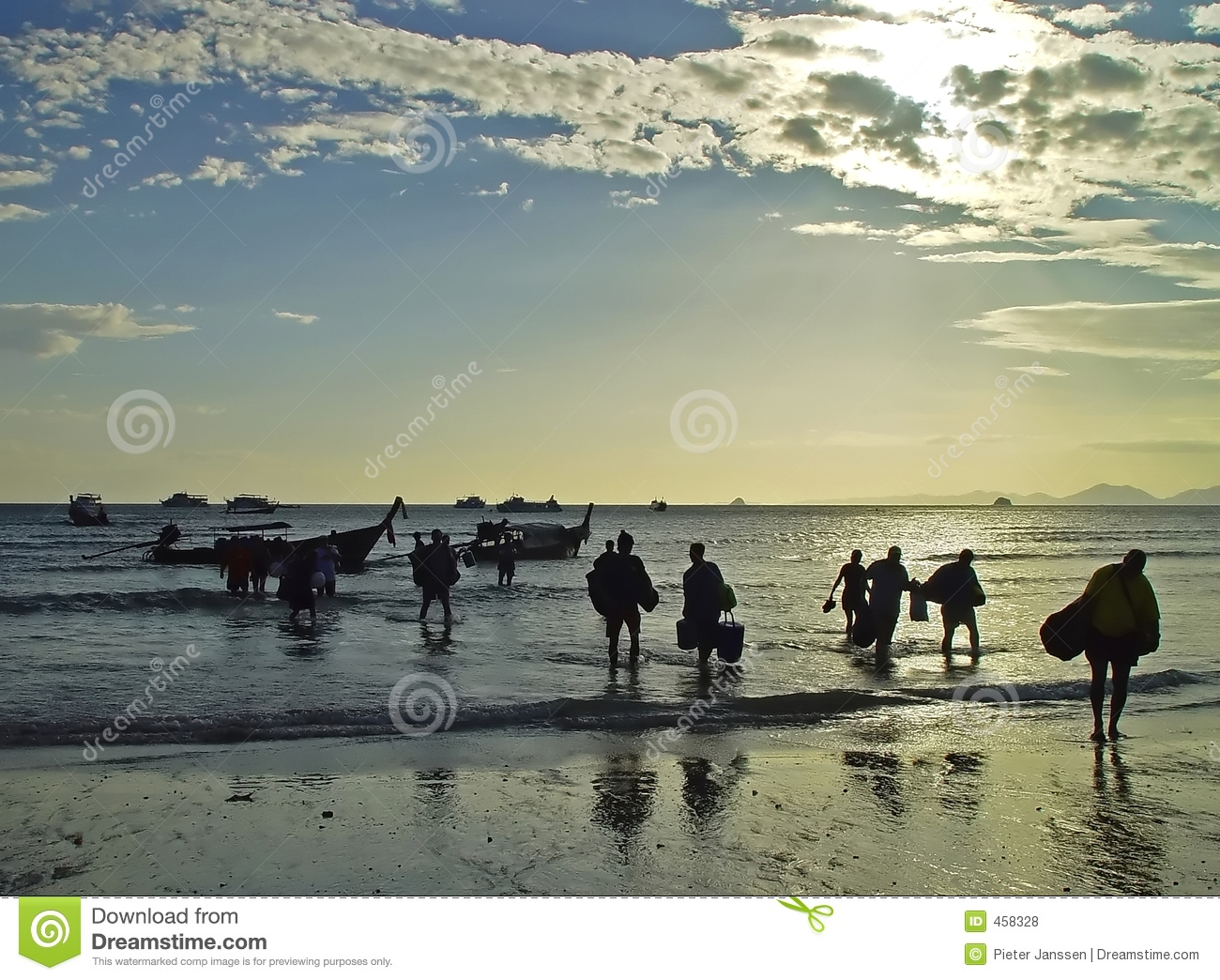 Download Diving in Thailand stock photo. Image of seaside, shoreline - 458328